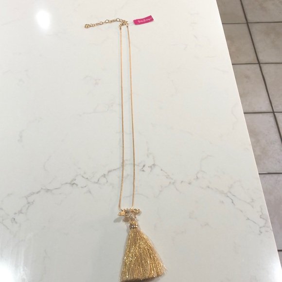 Brand new Lily Pulitzer Bee Tassel Necklace